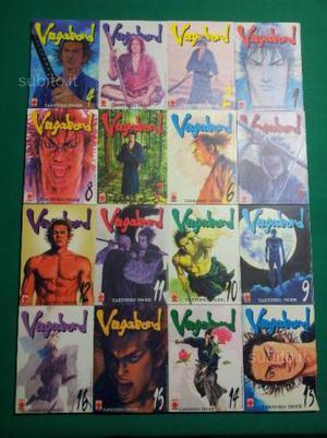 VAGABOND dal n.1 al n.16 prima edizione