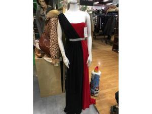 Abito donna fashion new york rosso nero new york
