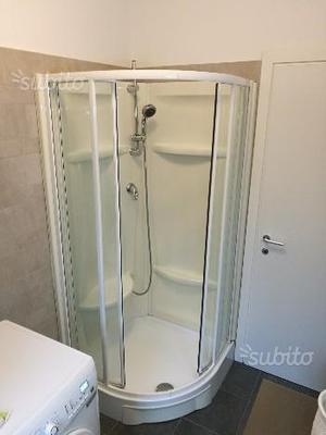 Box doccia semicircolare 90x90