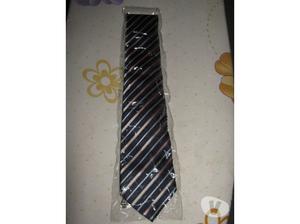Cravatta elegante a righe Naj Oleari originale e nuovissima