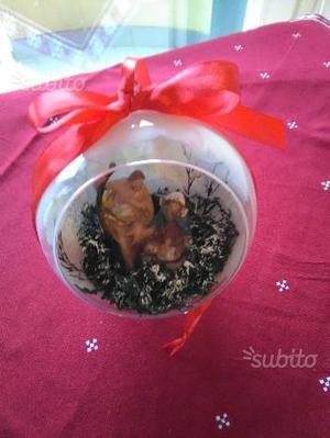 Damigiane con decorazioni decoupage posot class for Decorazioni natalizie personalizzate
