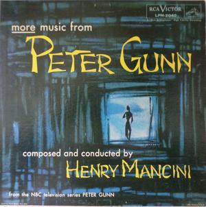 HENRY MANCINI - The Music From PETER GUNN - LP / 33 giri