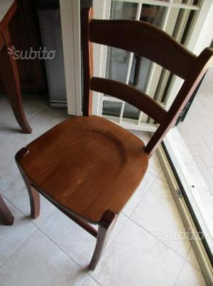 Sedie in legno massello