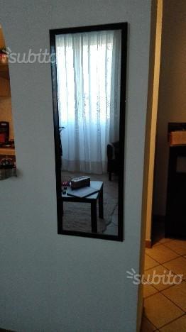 Specchio verticale posot class - Specchio cornice nera ...