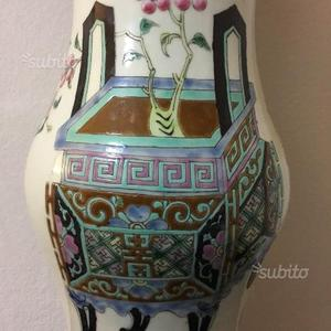 Vaso antico cinese famiglia verde Kangzi