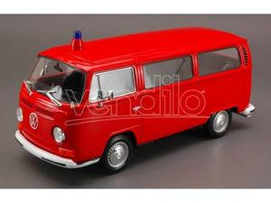 Welly WE VW BUS T FEUERWEHR 1:24 Modellino