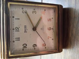 () antico orologio sveglia swiza mignon 7