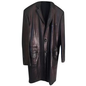 cappotto gucci in pelle