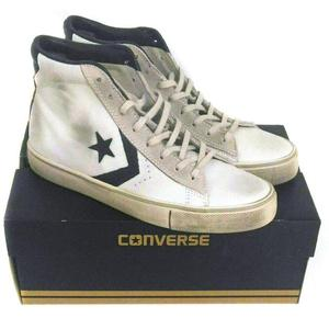 Converse in pelle bianche | Posot Class