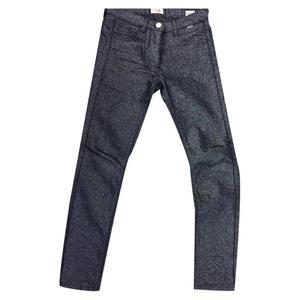 jeans lurex blu bambina taglia 8 anni