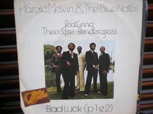 Bad luck p.1 e p.2 di harold melvin & the blue notes 45 giri