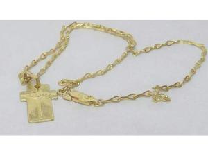 Collana da uomo in oro giallo  kt
