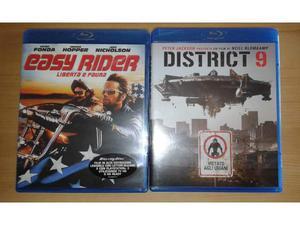 Easy Rider e District 9 Blu ray Nuovi