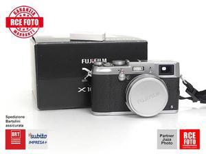 Fuji X 100s Silver +II batteria