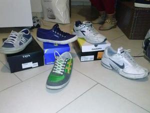 Lotto stock n. 6 scarpe 44 nike diadora tata good year