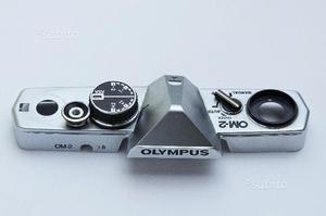 OLYMPUS OM2 Cover Silver