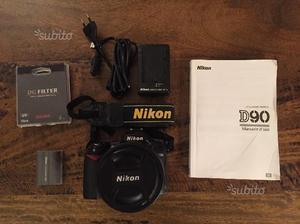 Reflex Nikon D90 corpo + obiettivo  VR