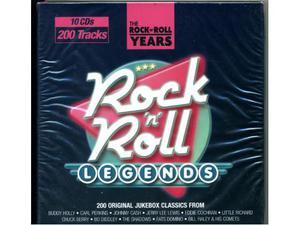 Rock n Roll Legends 10cd 200 tracks box set e Rock Hits 2cd