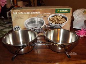 Set ciotole per animali - ZOOSAFARI