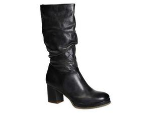 Stivali donna in pelle leonardo shoes
