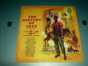 Vinile 33 giri originale EMI The History of Jazz Vol 1