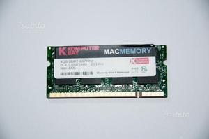 Banco memoria 4Gb 667MHz