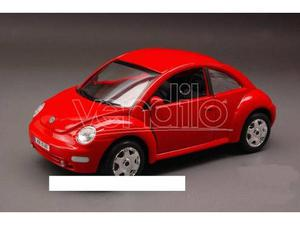 Bburago BUR VW NEW BEETLE RED 1:24 Modellino