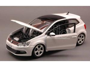 Bburago BUW VW POLO GTI MARK  WHITE 1:24