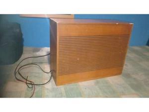 Cassa acustica in legno vintage