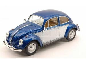 Hot Wheels KTWBW VW CLASSIC BEETLE  BLUE W/WHITE