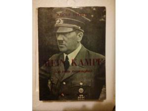 Libro La mia battaglia Adolf Hitler