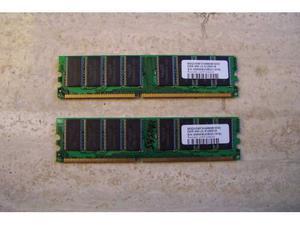 Memoria Ram 512Mb DDR 400 Vdata 2 banchi