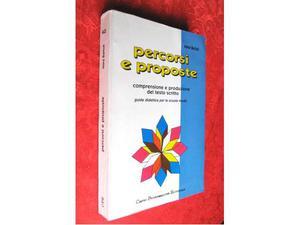 PERCORSI E PROPOSTE Guida didattica per la scuola media