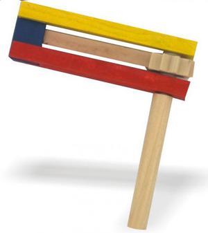 Trik trak giocattolo legno per festeggiare nuovo