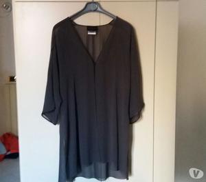 vestito cerimonia + coprispalle seta