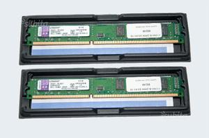 Doppio banco Memoria 8Gb (2x4) DDR3