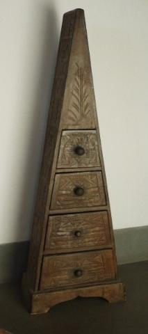 MOBILE etnico in legno