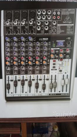 Mixer 12 canali con effetto voce e USB nuovo