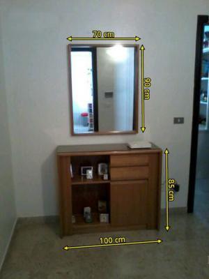 Mobile da ingresso + specchio