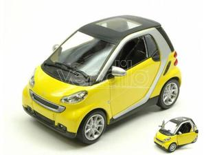 New Ray NYY SMART FORTWO II SERIE  YELLOW 1:24