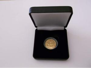 Sterlina d'oro  proof