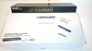 Switch Intellinet 16 porte