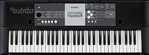 Tastiera YAMAHA YPT 230 come nuova con box E TREPP