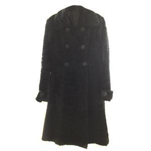 cappottino tipo astracan nero