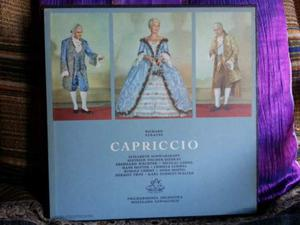Capriccio - Richard Strauss - 3 lp