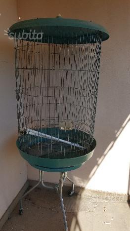 Gabbia voliera per pappagalli