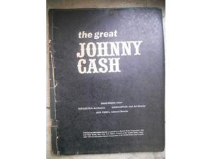JOHNNY CASH *Autograph picture & bonus book*RARE-LOOK!