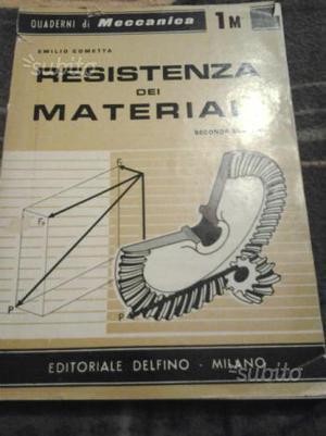 Libro su resistenza dei materiali