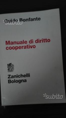 MANUALE di DIRITTO COOPERATIVO (Bonfante)