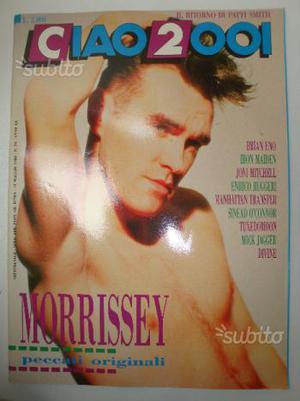 Musica CIAO _ n 19 Morrissey-Jagger-Rugger